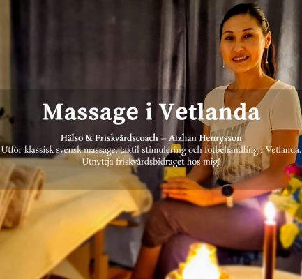 Aizhana.com – massage i Vetlanda