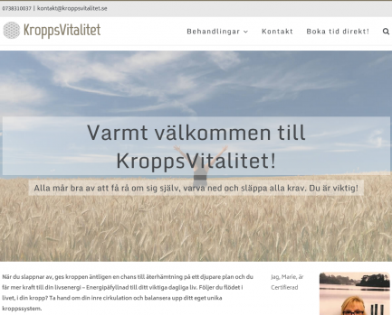 KroppsVitalitet.se